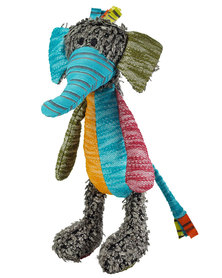 Hunter Pets Dog Toy Hobbs Patchwork  Elephant