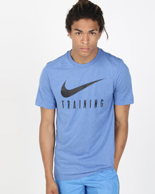 Nike Performance M NK Dry Tee Blue