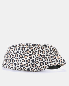 Blackcherry Bag Leopard Print Bum Bag Beige