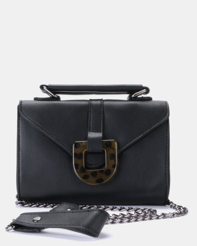 Blackcherry Bag Mini Cross Body Bag Black