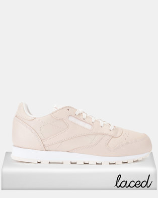 46c42b18563 Reebok Classic Leather Sneakers Pale Pink