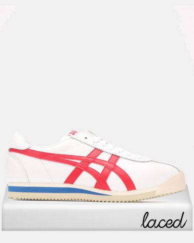 watch c8a4e 3085c Onitsuka Tiger Tiger Corsair Sneakers White/True Red