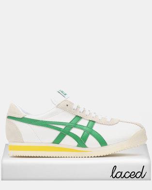 853248cd85 Onitsuka Tiger Tiger Corsair Sneakers White Green