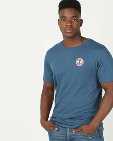 Element Seal Back Short Sleeve Tee Blue