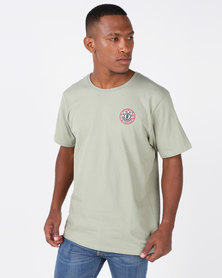 Element Seal Back Short Sleeve Tee Green