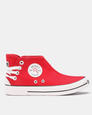 2c3516fc1153 Soviet Charger Sneakers Red