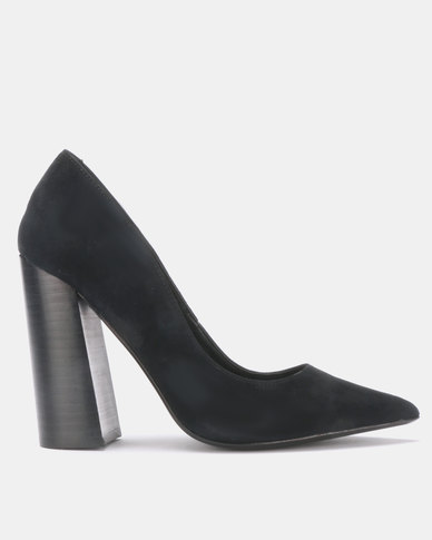 37b288f873 Steve Madden Loretta Heels Black Suede | Zando