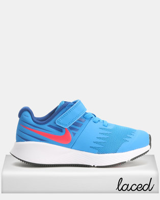 3bc2607417fe Nike Star Runner Trainers Blue