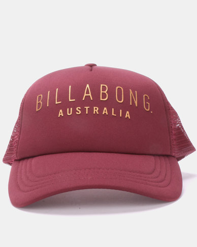 Billabong All Time Trucker Cap Red