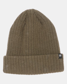 Billabong Arcade Solid Beanie Green