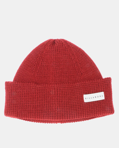 Billabong Ballast Beanie Red