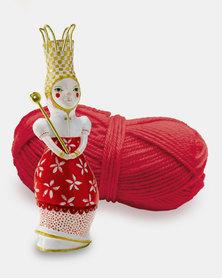 Djeco French knitting  - Red Elodie