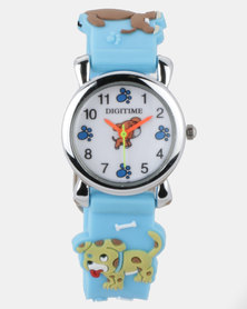 Digitime Watch 3D Kids 14mm Strap Boys Multi