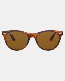 Ray-Ban Wayfarer II Classic Sunglasses Stripped Havana