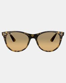 Ray-Ban Wayfarer II Evolve Sunglasses Yellow Havana
