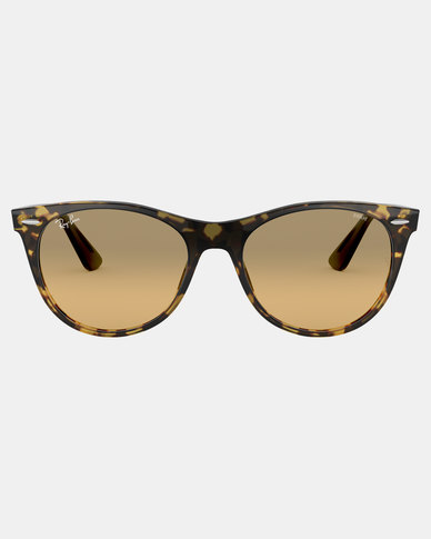 Ray-Ban Wayfarer II Evolve Sunglasses Yellow Havana