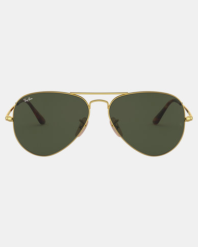 Ray-Ban Aviator Sunglasses Gold