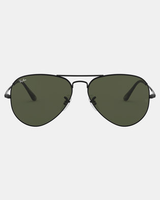 205735d33cc Ray-Ban Aviator Sunglasses Black