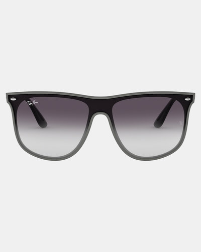 7329b619a3ec Ray-Ban Wayfarer Sunglasses Top Grey On Havana