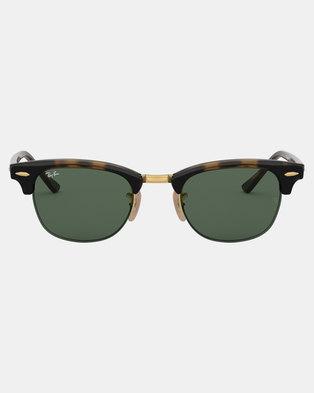 Ray-Ban Clubmaster Sunglasses Havana