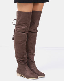 Footwork Gabriella OTK Boot Brown