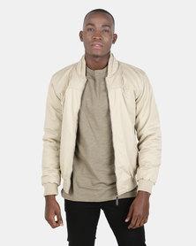 JCrew Cotton Bomber Jacket Khaki