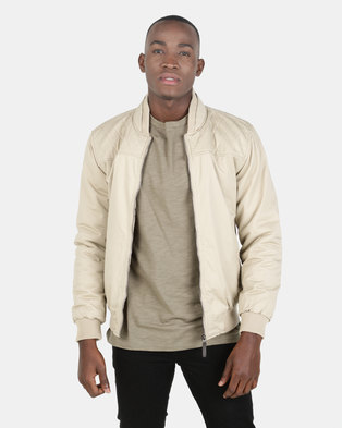 fafcbbe66bc JCrew Cotton Bomber Jacket Khaki