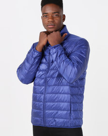 Utopia Down Filled Puffer Jacket Cobalt Blue