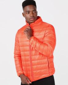Utopia Down Filled Puffer Jacket Orange