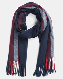 Utopia Soft Feel Scarf Navy