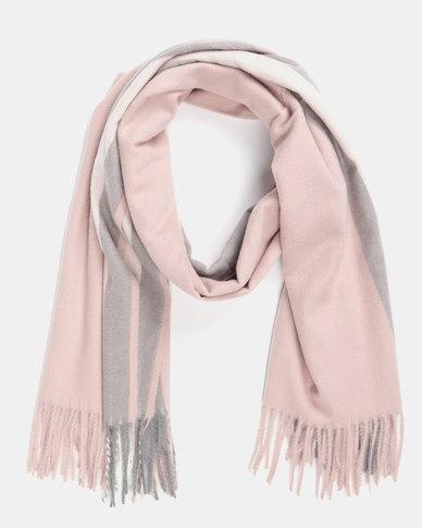 Utopia Soft Feel Scarf Soft Pink
