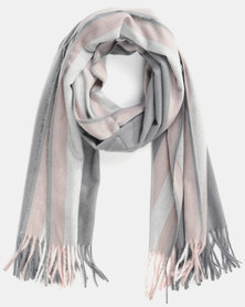 Utopia Soft Feel Scarf Grey