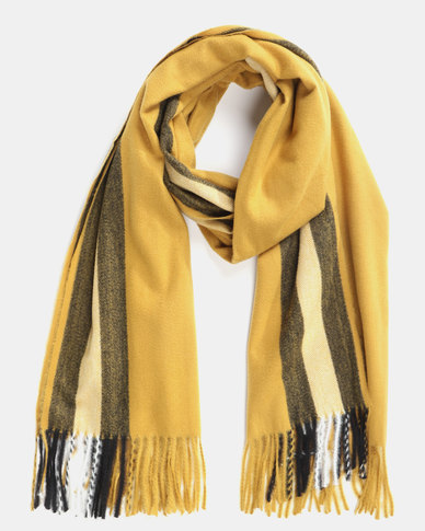 Utopia Soft Feel Scarf Mustard