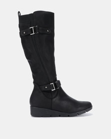 Butterfly Feet Luan Boots Black