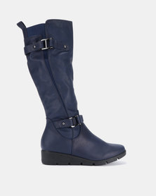 Butterfly Feet Luan Boots Navy
