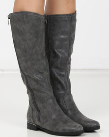 Urban Zone Long Boots Grey
