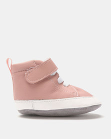 Shooshoos City Of Lights High Top Sneakers Pink