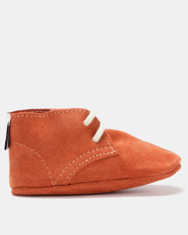 Shooshoos Reginald Oxford Shoes Orange