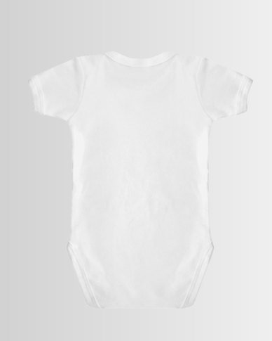 Qtees Africa Hunter in training White baby grow