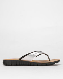 Angelsoft Giselle Leather Sandal Black