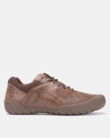 Caterpillar Hayox Lace Up Shoes Bistro