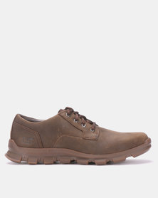 Caterpillar Intent Lace Up Shoes Coffee Bean