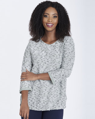 Contempo Textured Boucle Top