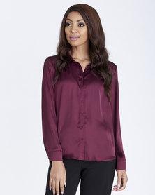 Contempo The Essential Shirt Purple