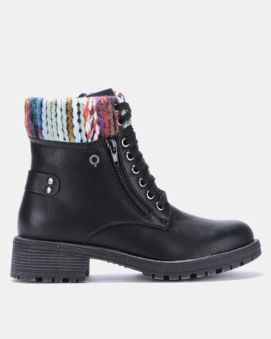 best sell on feet at many styles Bronx Women Anya Ankle Boots Black