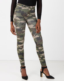 Sissy Boy Joey Scultp Knit Jeggings Camo