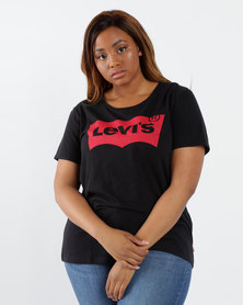 Levi's®  Plus Size Perfect Tee Mineral Black