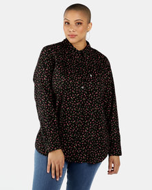 Levi's®  Plus Size Ryan 1 Pocket Boyfriend Shirt Rosebud Caviar
