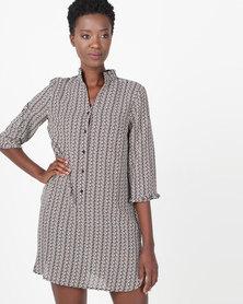 Smashed Lemon Stripe Tunic Dress Multi