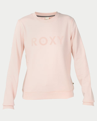 Roxy Eternally Yours Crew A Sweater Cloud Pink